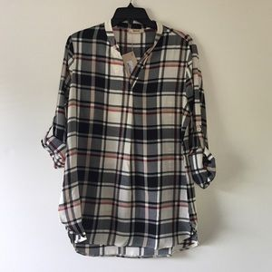 Timesom blouse New With Tags And In Bag Size Large